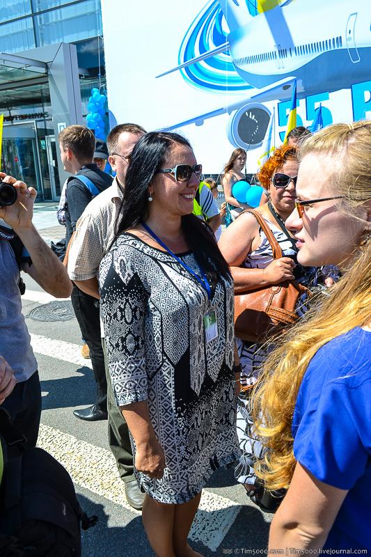 Оксана Ожигова - пресс-секретарь Международного аэропорта Борисполь