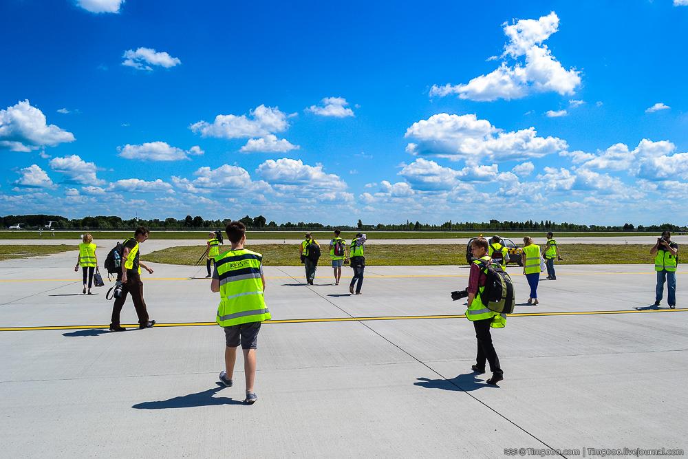 перрон аэропорта Борисполь