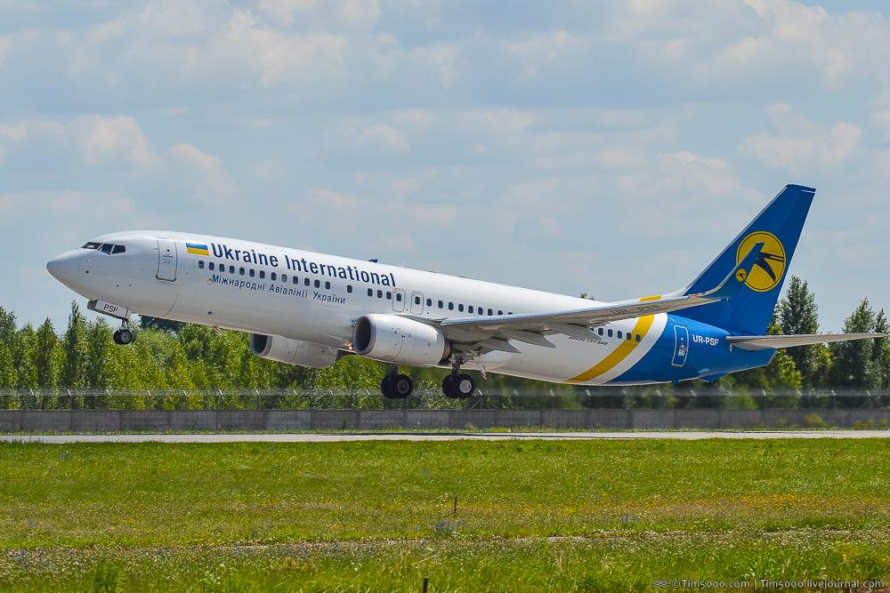 Boeing 737-800 Международных авиалиний Украины