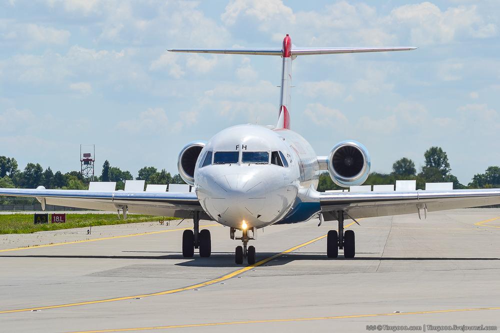 Fokker F70 Austrian Airlines