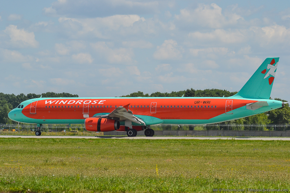 Windrose Airbus A321