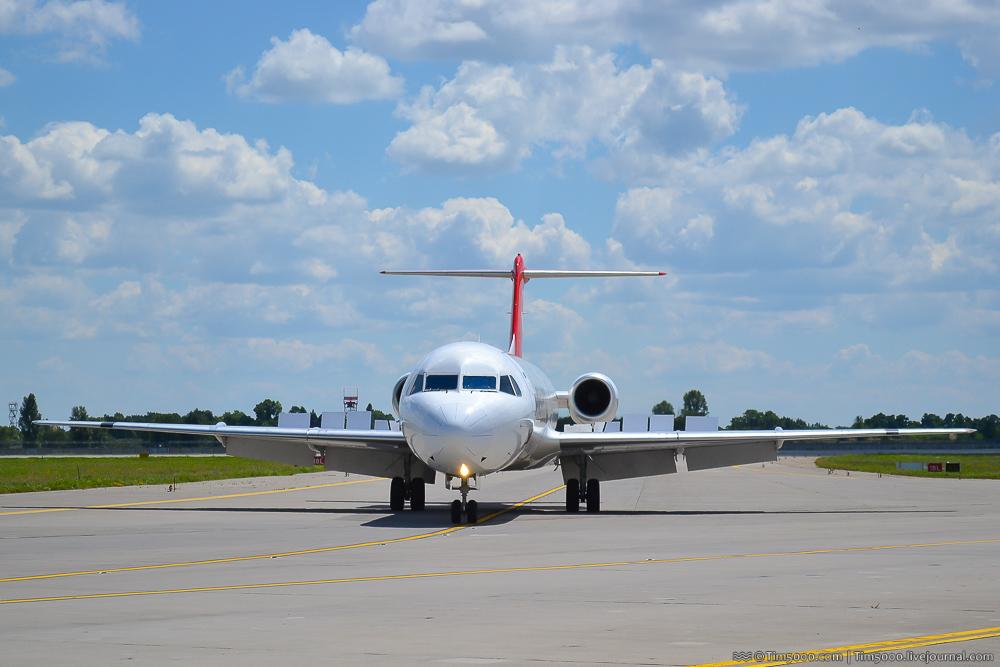 Fokker F100 Helvetic Airways