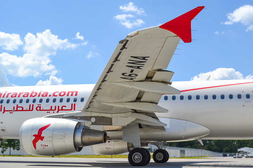 Airbus A320 Air Arabia
