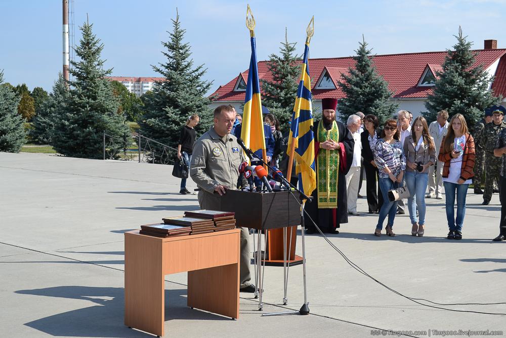 Подполковник Алексей Братусь - заместитель командира части по инженерно-авиационной службе