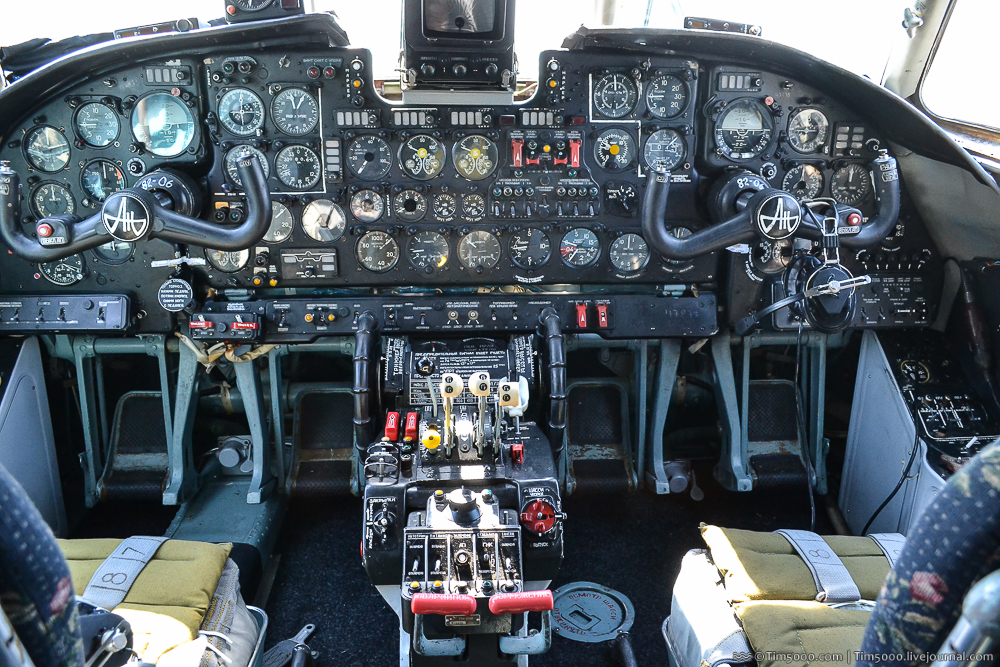 Кабина пилотов Феникс Ан-26