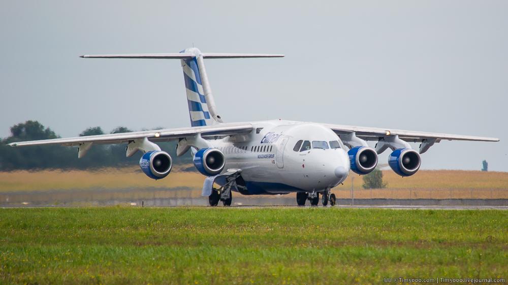 Avro RJ85 Ellin Air