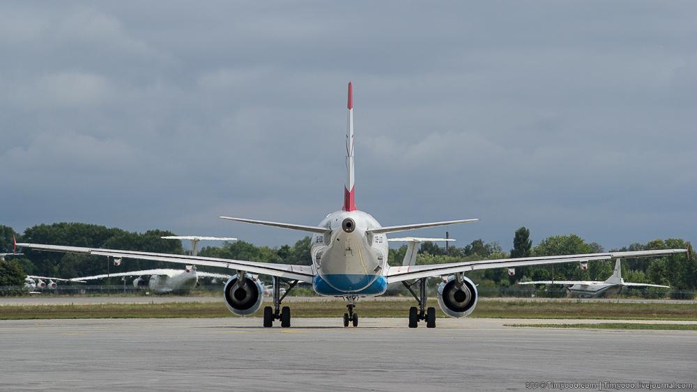 австрийский Airbus A319