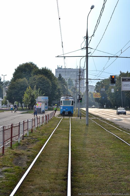 Знаменитый винницкий трамвай