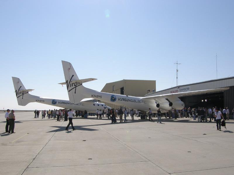 Разгонный самолет White Knight Two