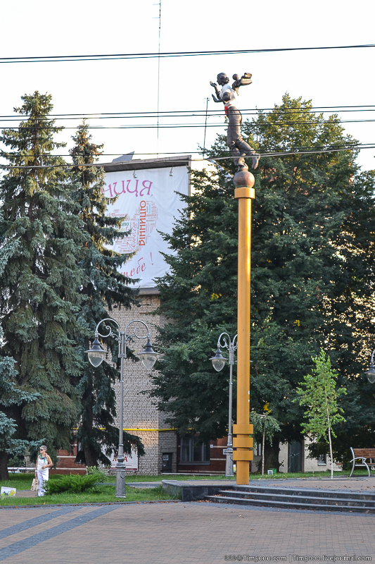 Памятник на площади Независимости