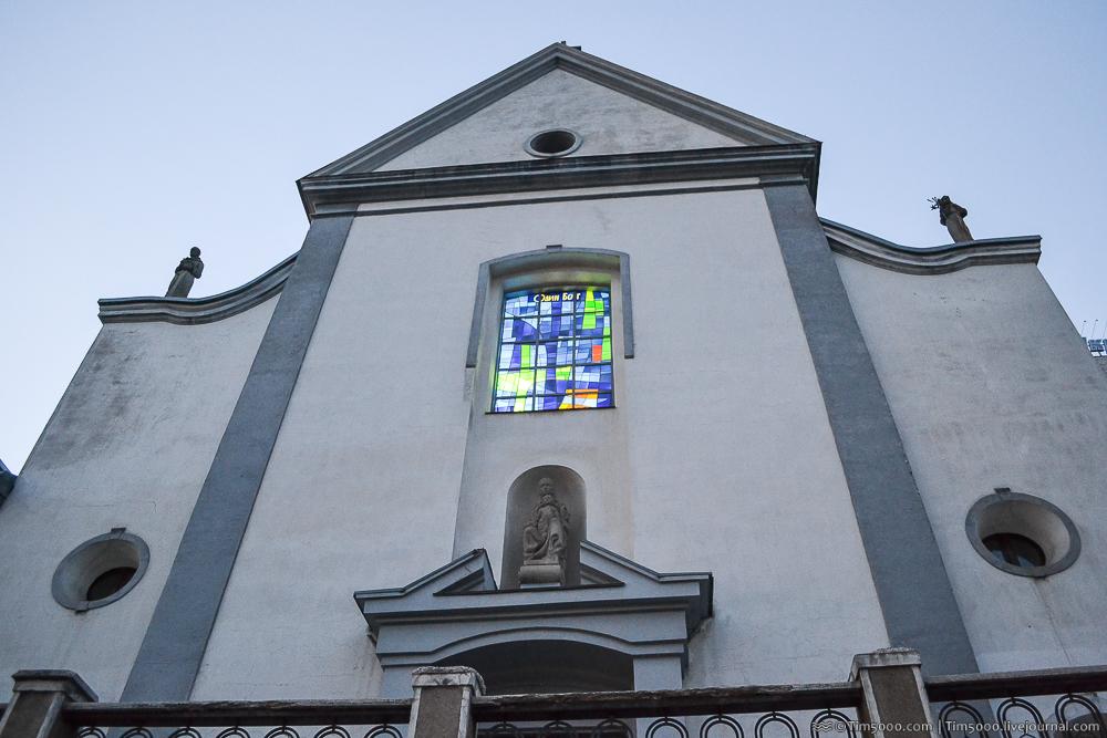 Капуцинский храм Пресвятоой Девы Марии Ангельской
