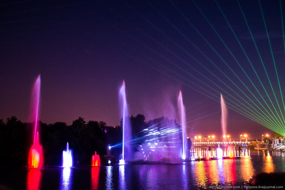 Винницкий фонтан Roshen