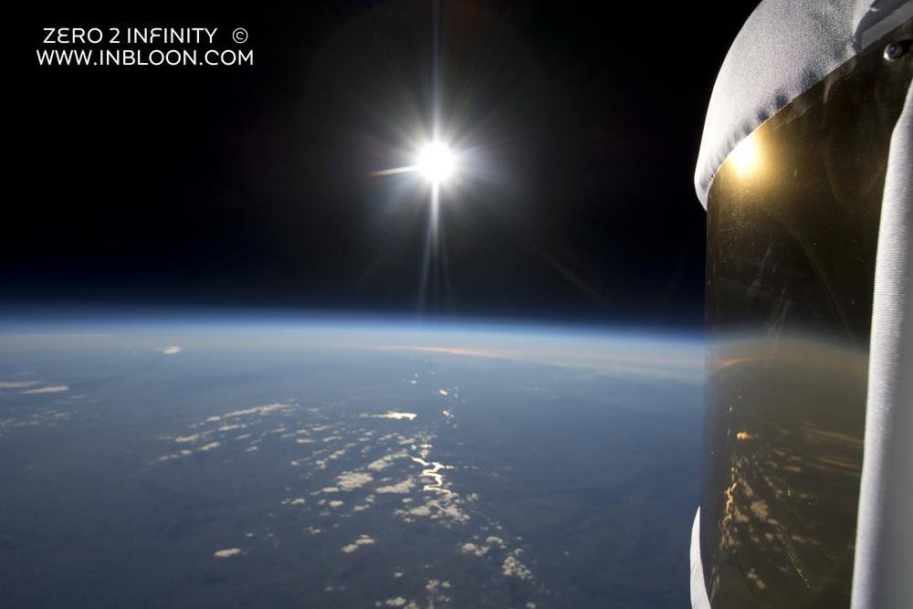 Полет на аэростате Zero2Infinity Bloon
