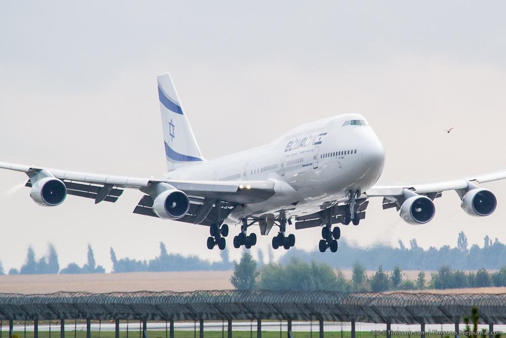 Boeing 747 в Киеве