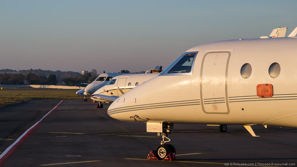 носы украинской бизнес-авиации