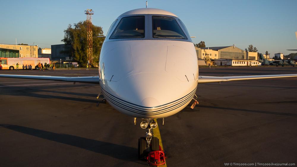 нос Gulfstream G150