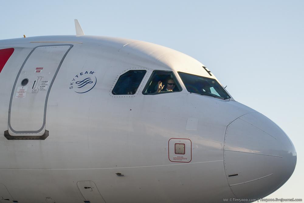 пилот Royal Jordanian