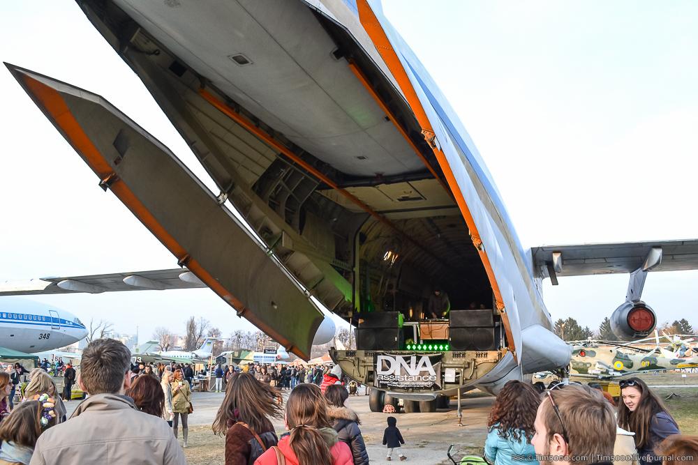 Салон Ил-76