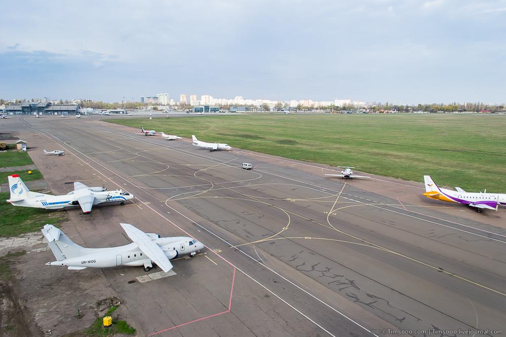 «IEV_spotting_empty_sky»: споттинг в Международном аэропорту «Киев»