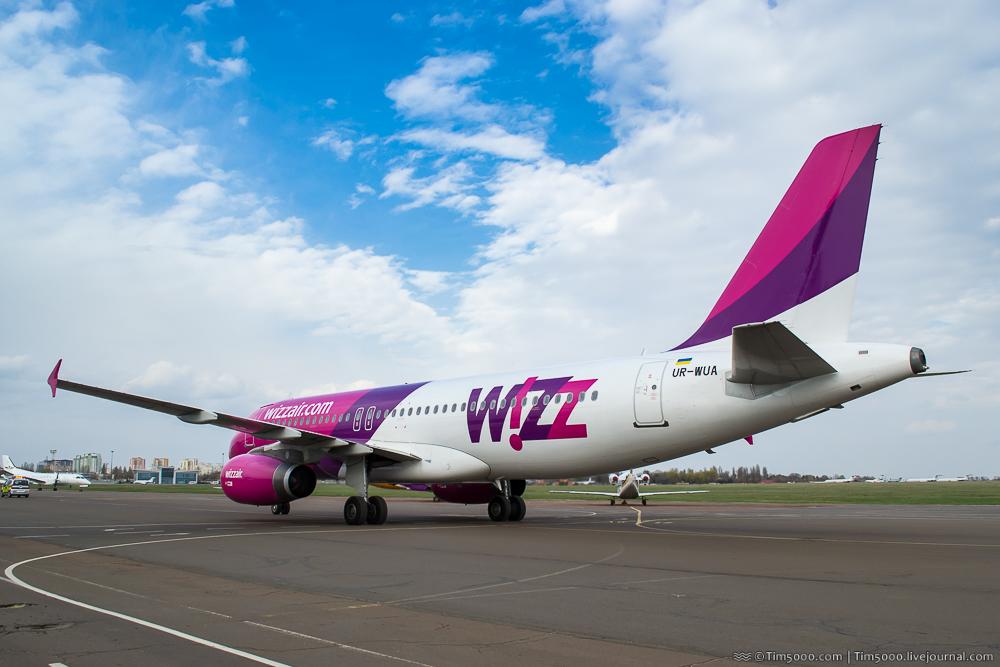 Airbus A320 WizzAir Украина