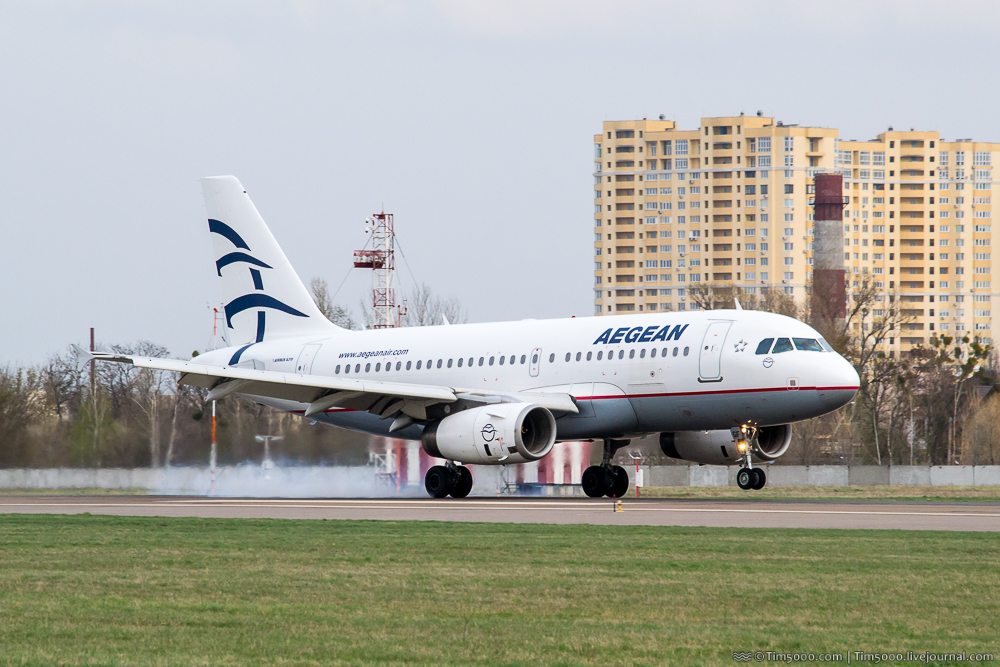 Aegean Airlines Airbus A319