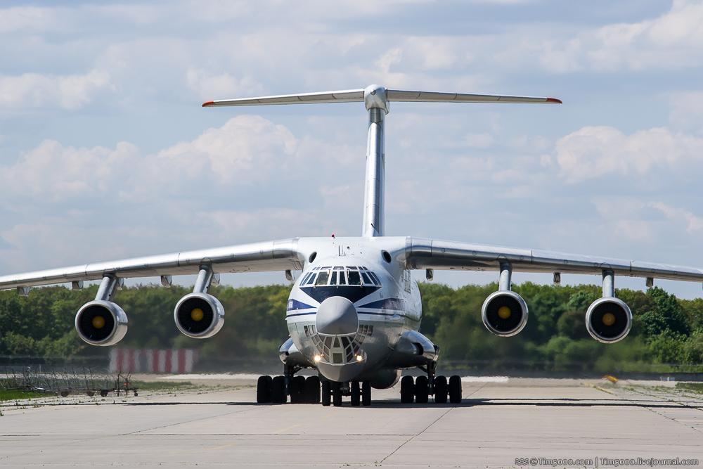 Руление Ил-76МД