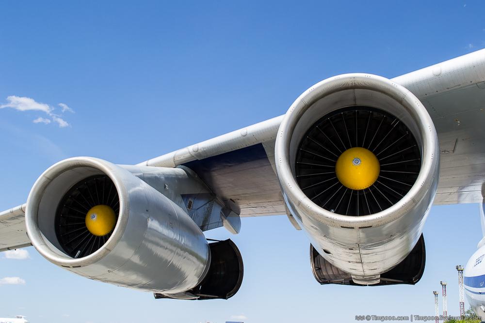 Двигатели Ил-76МД Северный Сокол
