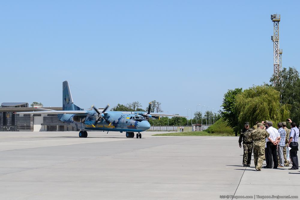 Первый полет Ан-26 Рятунчик