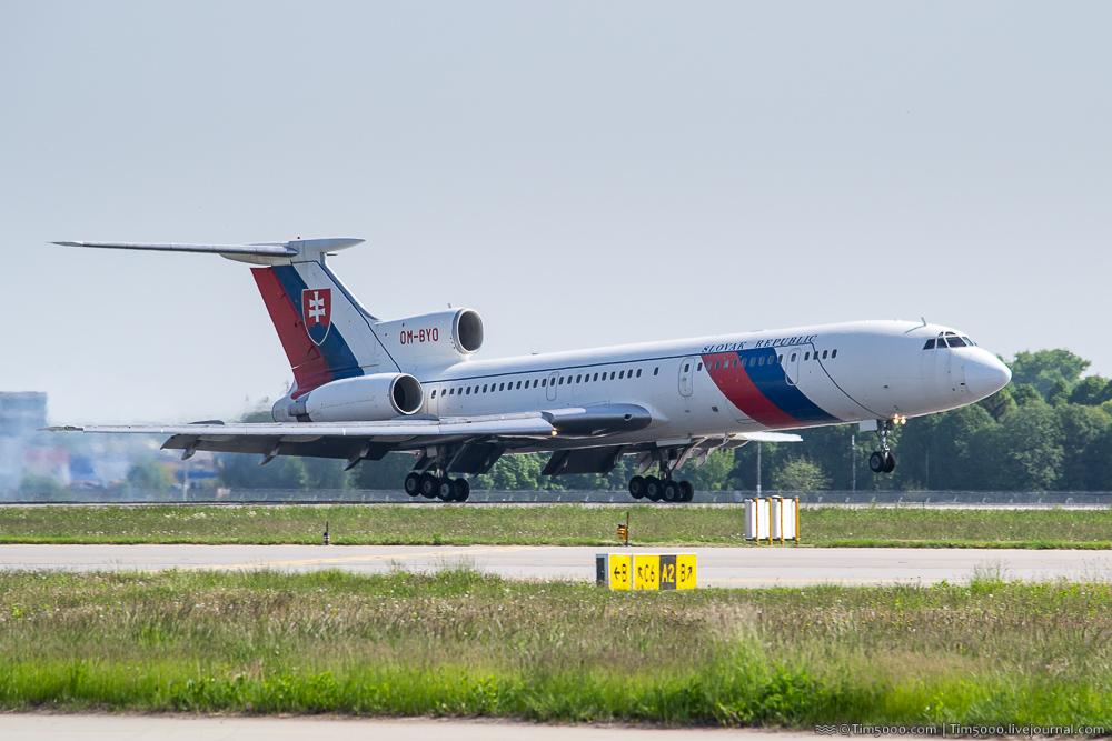 Ту-154М президента Словакии