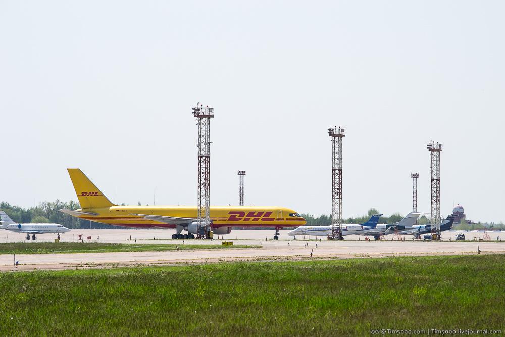 Boeing 757 DHL