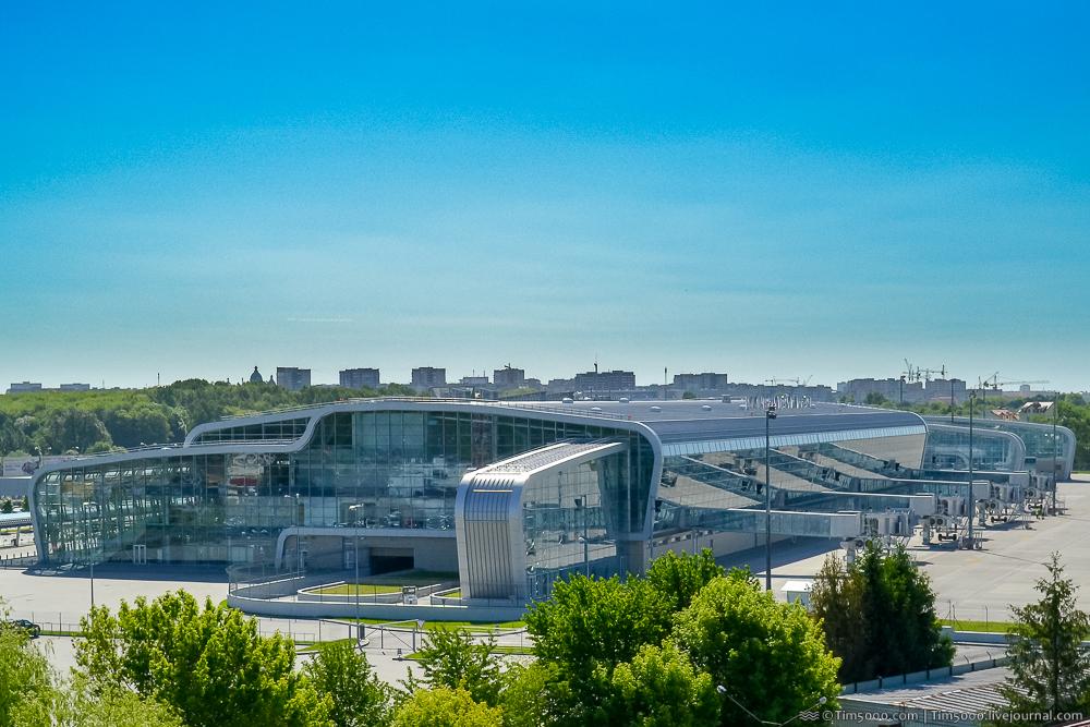 новый терминал международного аэропорта Львов