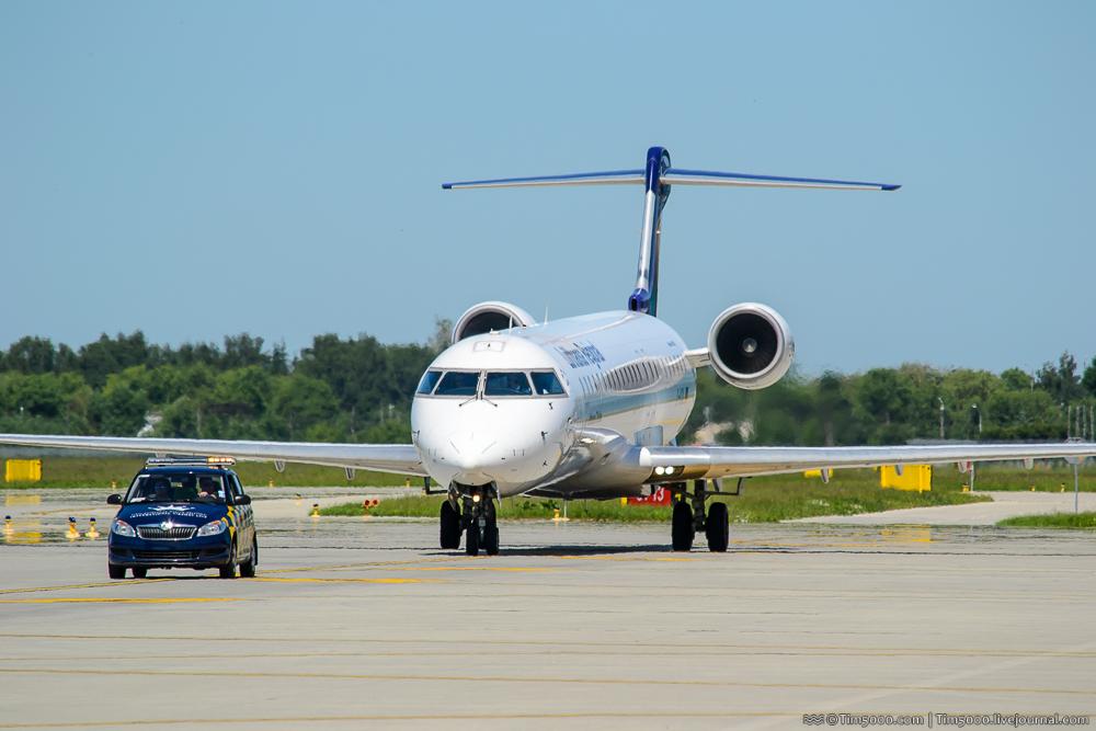 Bombardier CRJ-900 авиакомпании Lufthansa