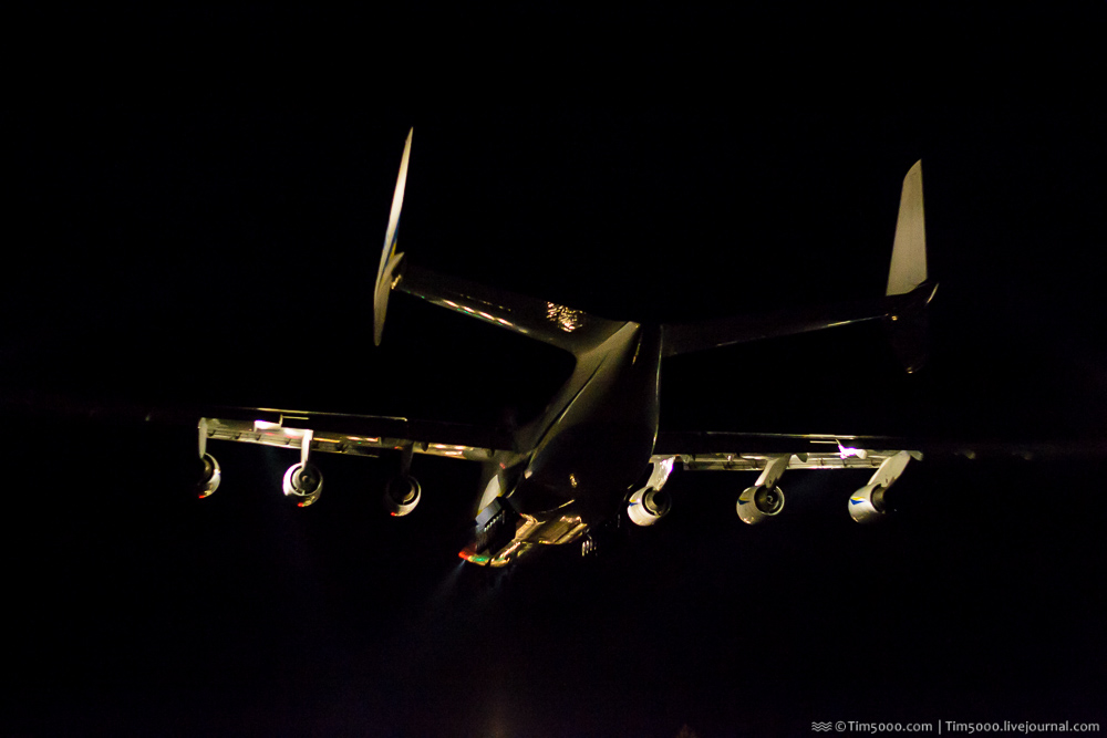 Ан-225 Мрия вернулась домой