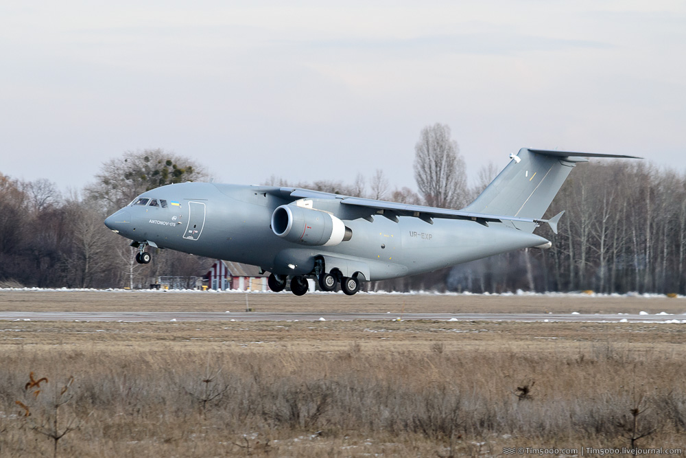 Ан-178 с новым двигателем Д-436-148ФМ!