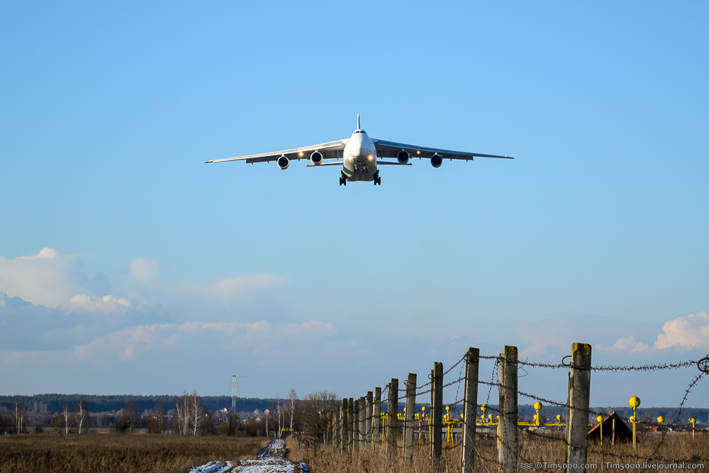 Ан-124 Руслан Maximus Air Cargo в Гостомеле