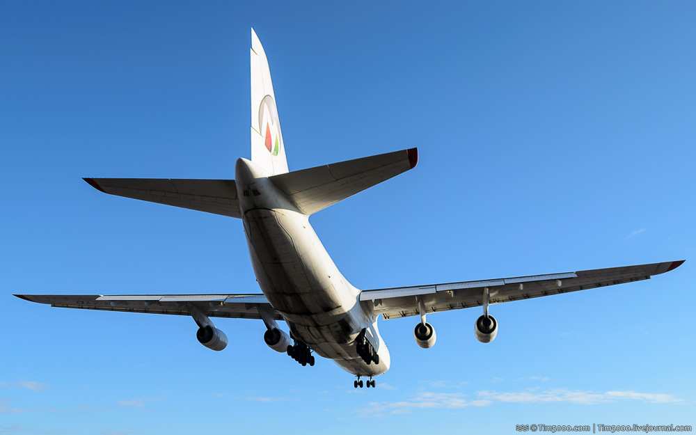 Ан-124 Руслан Maximus Air Cargo