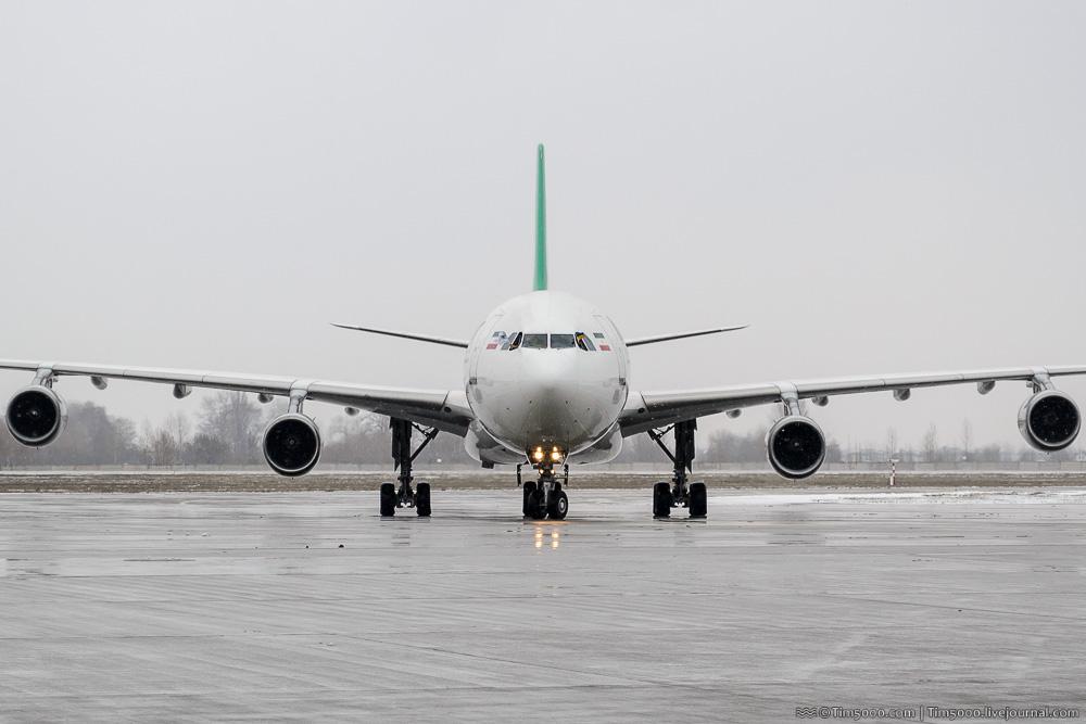 Mahan Air: новый рейс Киев-Тегеран