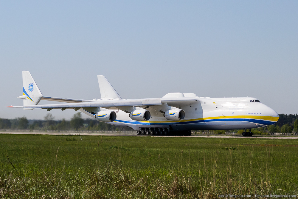 Ан-225 Мрия улетела в Австралию!