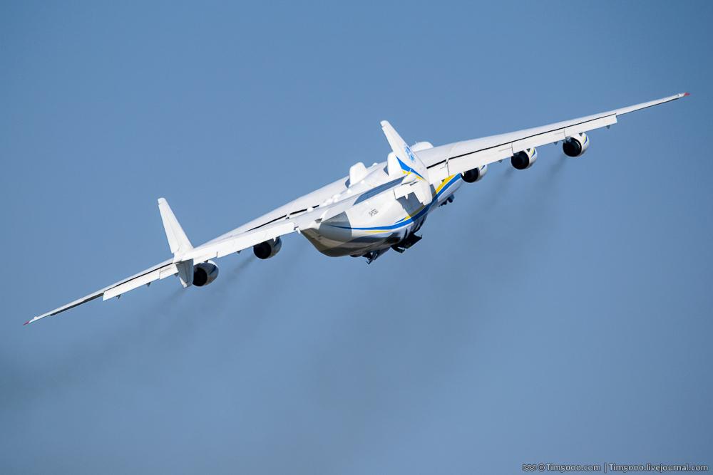 Ан-225 «Мрия» улетела в Австралию!