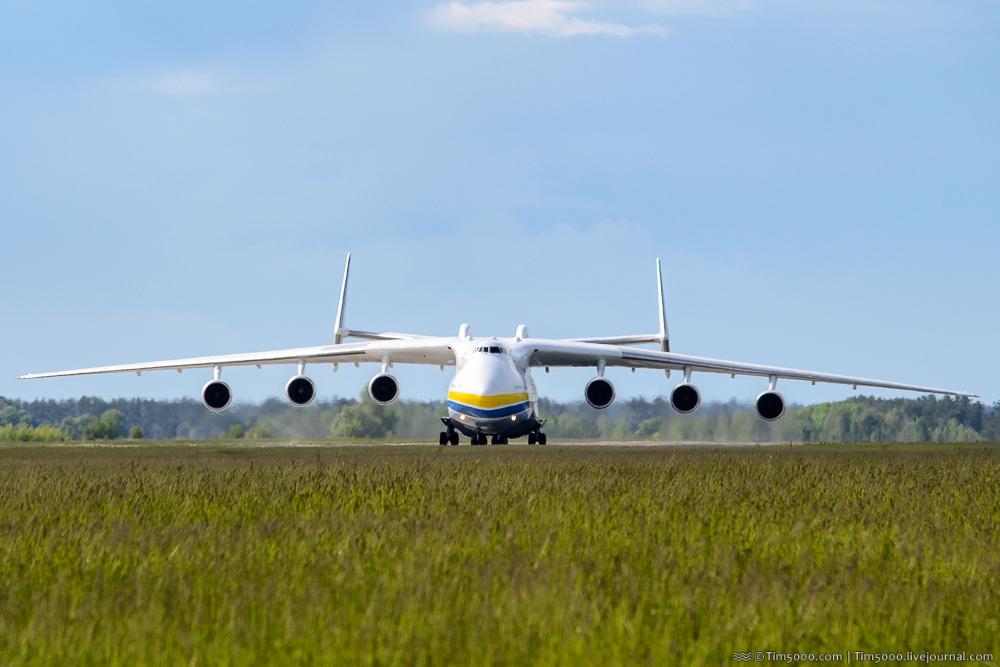 Ан-225 «Мрия» вернулась из Австралии!