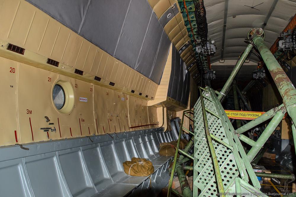 грузовая кабина Ан-22А UR-09307