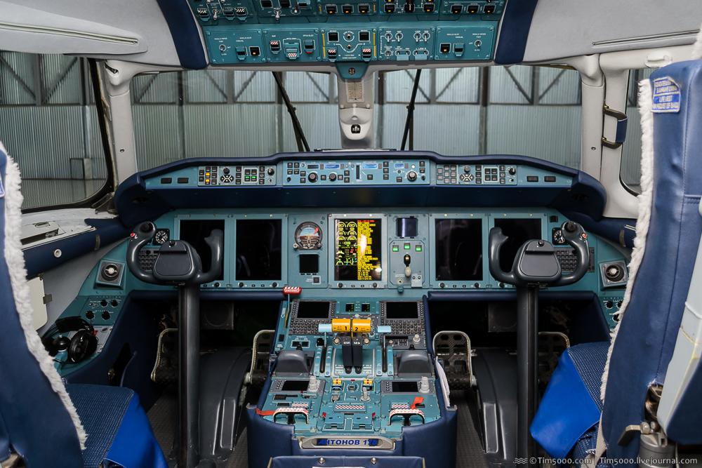 кабина Ан-178