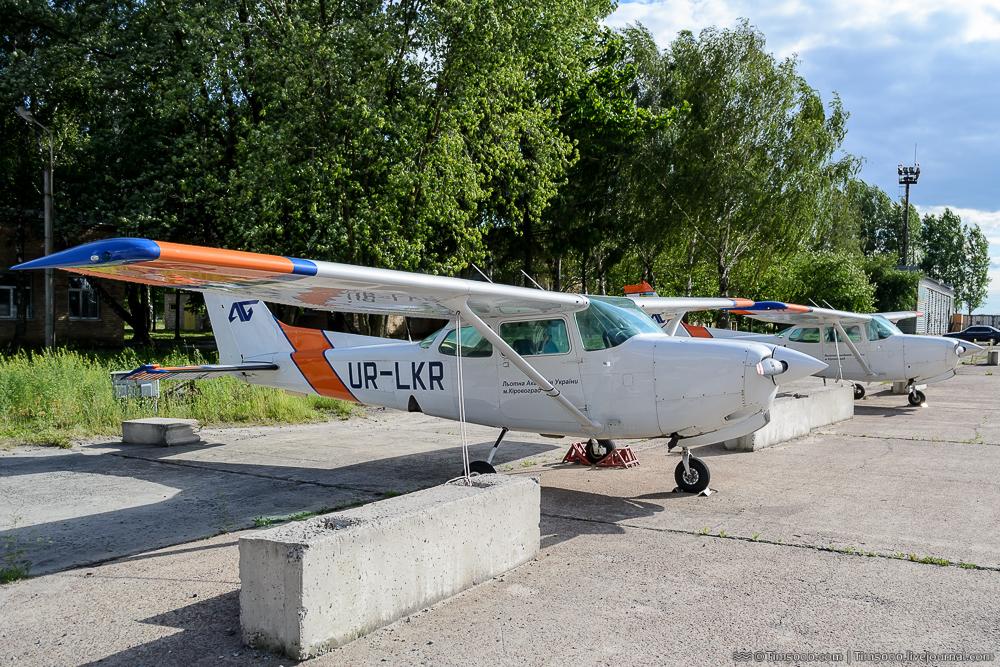 Cessna-172RG Кировоградской летной академии
