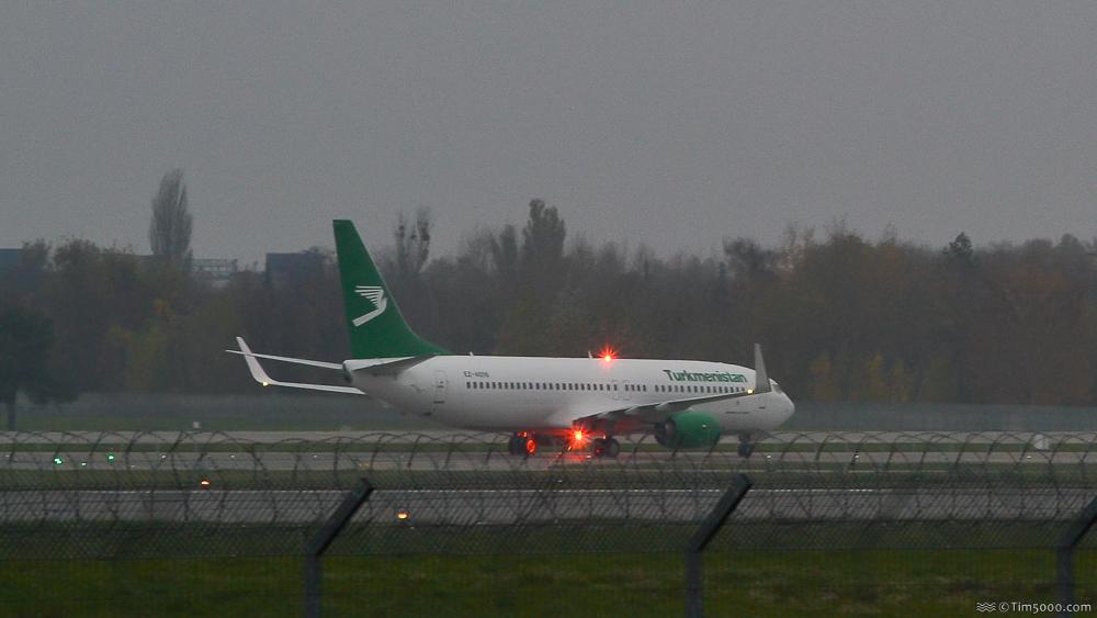 Boeing 737-800 Turkmenistan Airlines