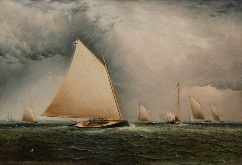 James-E-Buttersworth-Catboat-and-Committee-Boats