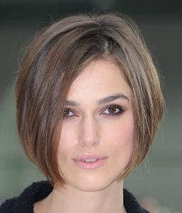 Короткое каре на средние волосы