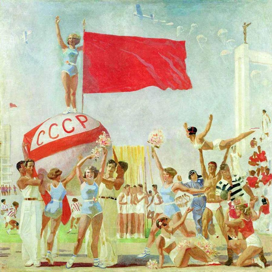 Самохвалов, Советская физкультура, 1937
