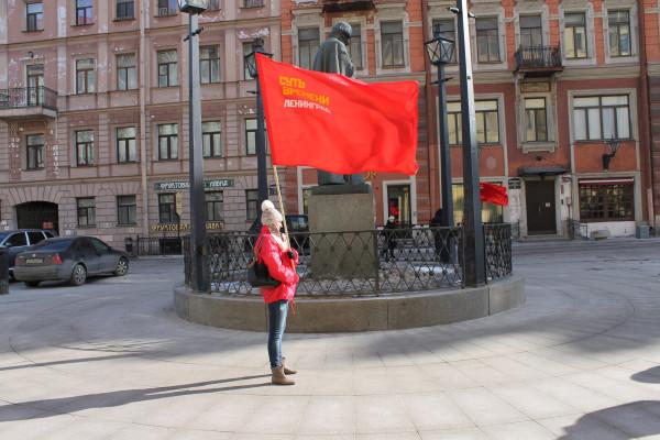 20130317, Малая Конюшенная, флаг