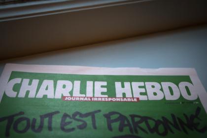 Обложка журнала «Шарли Эбдо», картинка с Лента.ру