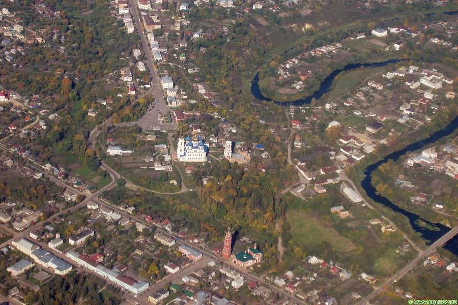 Центр г. Болхова Орловской области